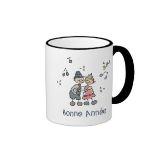 Bonne Annee Coffee Mugs