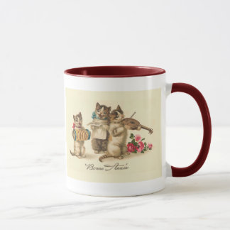 """Bonne Annee"" Vintage French New Year Mug"