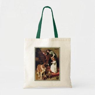 Bonne nuit - avec St Bernard Sacs Fourre-tout