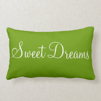 Bonne Nuit Sweet Dreams Decorative Bedroom Accent Lumbar Pillow