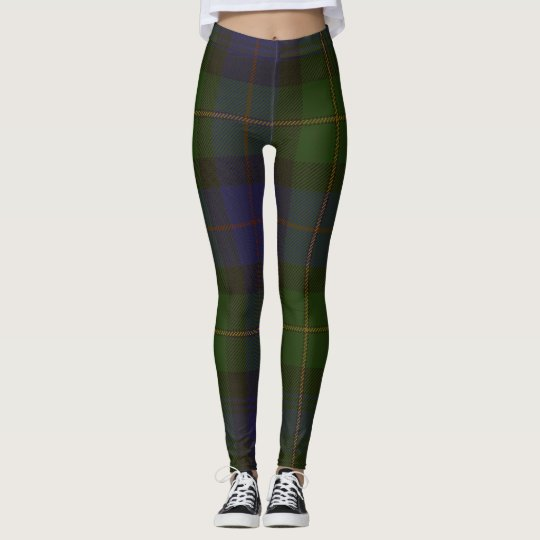 Bonner Tartan Clan Plaid Leggings