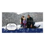 Bonnes fêtes carte photo photocartes