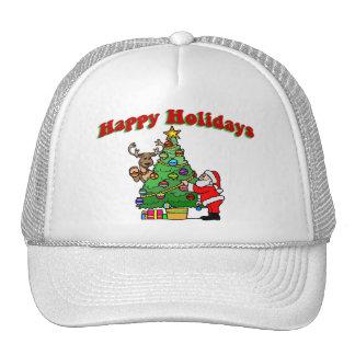 Bonnes fêtes décoration de Noël Casquette De Camionneur