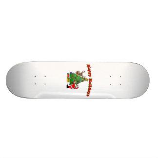 Bonnes fêtes décoration de Noël Planche À Roulette Customisée
