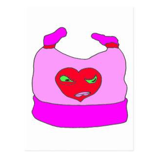 BONNET BABY HEART MOM 1.PNG POSTCARD