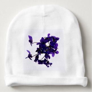 Bonnet de bébé Violettes Bonnet Pour Bébé