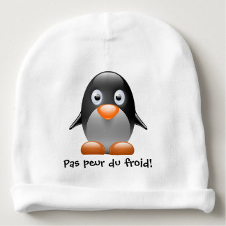 Bonnet penguin for baby baby beanie