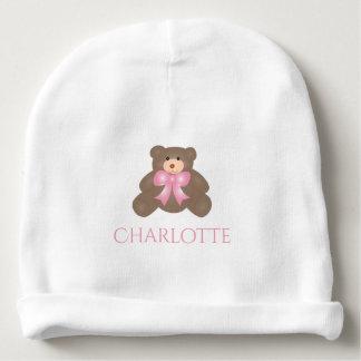 Bonnet Pour Bébé Bébé doux d'ours de nounours de ruban mignon de
