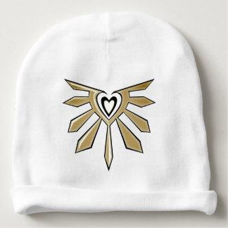 Bonnet shining heart baby beanie