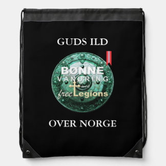 BØNNEVANDRING Norwegian Drawstring Bag