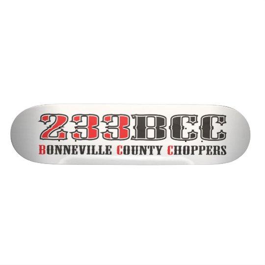 Bonneville County Chopper 233BCC Skate Deck