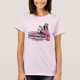 Bonneville County Chopper Breast Cancer Project T-Shirt