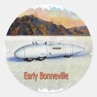 Bonneville Round Sticker