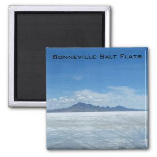 Bonneville Salt Flats Square Magnet