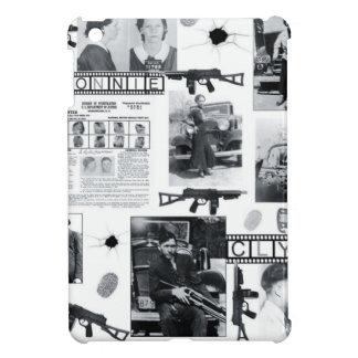 BONNIE AND CLYDE iPad MINI CASES