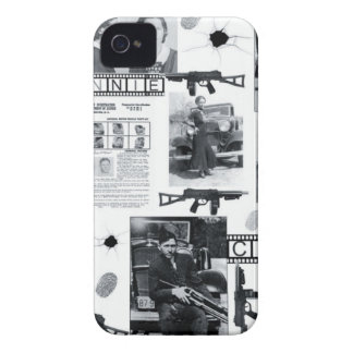 BONNIE AND CLYDE iPhone 4 Case-Mate CASE