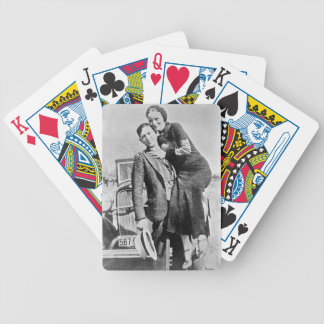 bonnie and clyde poker deck