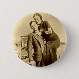 Bonnie and Clyde - The Barrow Gang 2 Inch Round Button