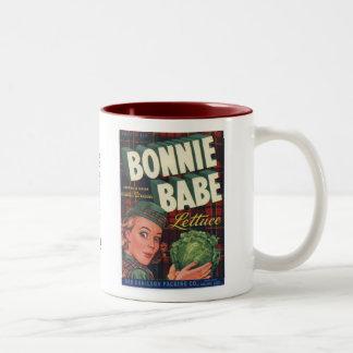 Bonnie Babe Lettuce Two-Tone Coffee Mug