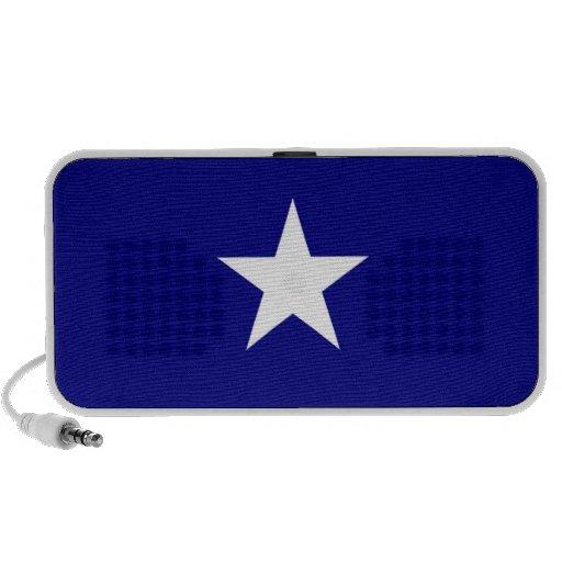 Bonnie Blue Doodle Speakers by OrigAudio