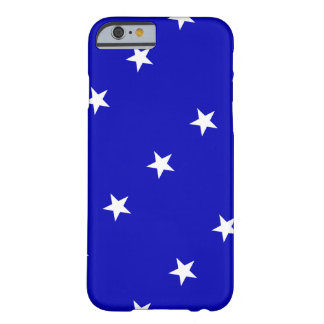 Bonnie Blue Flag Barely There iPhone 6 Case