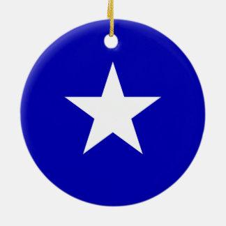 Bonnie Blue Flag Ceramic Ornament