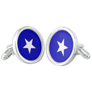 Bonnie Blue Flag Cufflinks
