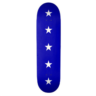 Bonnie Blue Flag Custom Skate Board