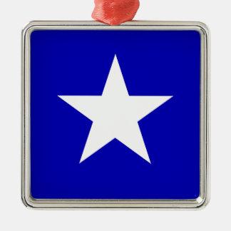 Bonnie Blue Flag Metal Ornament