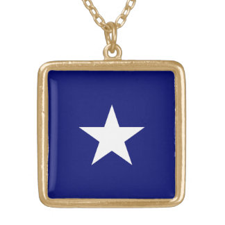 Bonnie Blue Flag Necklace