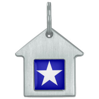 Bonnie Blue Flag Pet Name Tag
