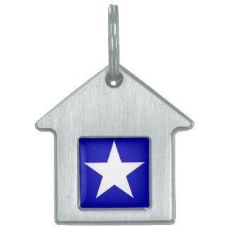 Bonnie Blue Flag Pet Tag