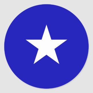 Bonnie Blue Flag Round Sticker