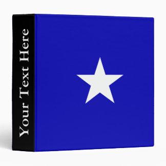 Bonnie Blue Flag Vinyl Binders