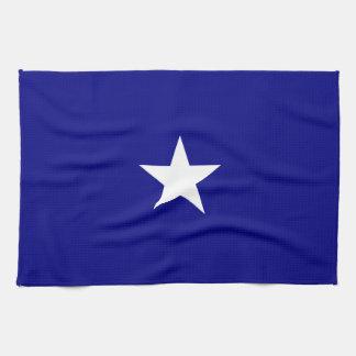 Bonnie Blue Flag White Star Kitchen Towel