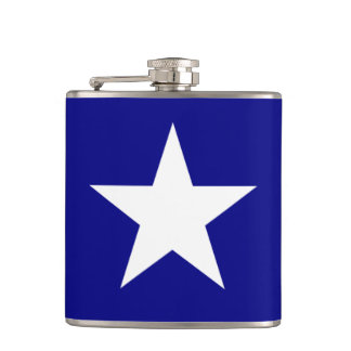 Bonnie Blue Flag with Lone White Star Flask