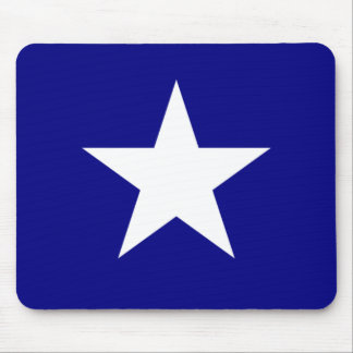Bonnie Blue Flag with Lone White Star Mouse Pad