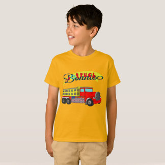 Bonnie construction vehicle bonnet dump truck T-Shirt