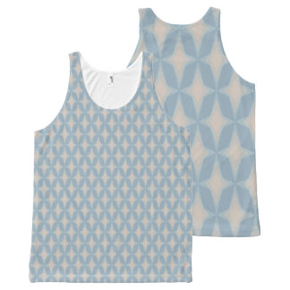 Bonnie Gentle Retro Four Point Stars All-Over-Print Tank Top