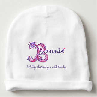 Bonnie girls name & meaning baby hat baby beanie
