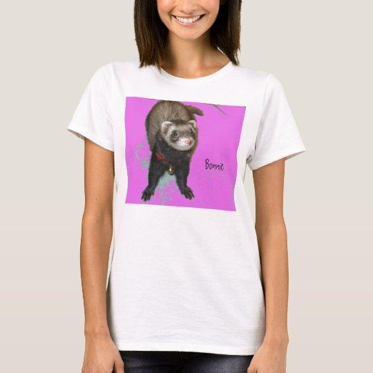 Bonnie in Pink T-shirt