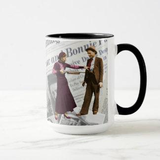 Bonnie Parker & Clyde Barrow Mug