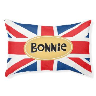 Bonnie Personalized Brit Pet Bed