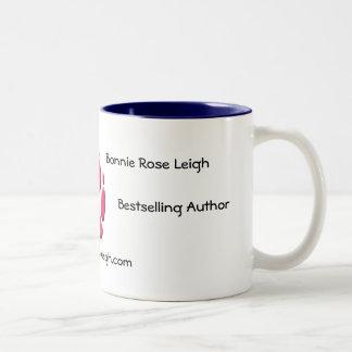 Bonnie Rose Leigh, Two-Tone Blue Mug