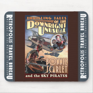 Bonnie Scarlet & the Sky Pirates Mouse Pad