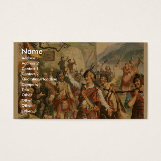 Bonnie Scotland Business Card