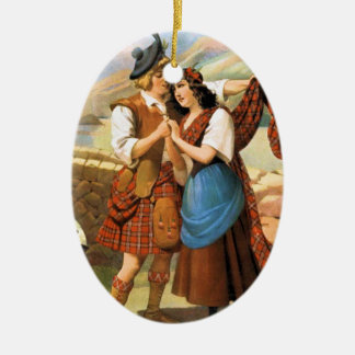 Bonnie Scotland Ceramic Ornament