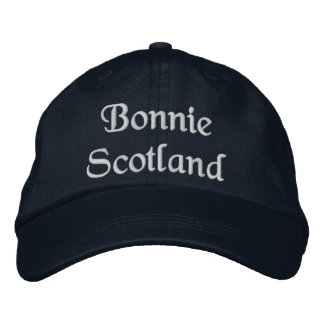 Bonnie Scotland hat - a quality Scottish souvenir