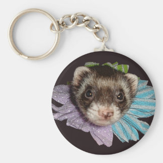 Bonnie The Ferret Flower Key Chain