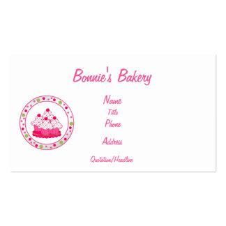 Bonnies Bakery Business Card